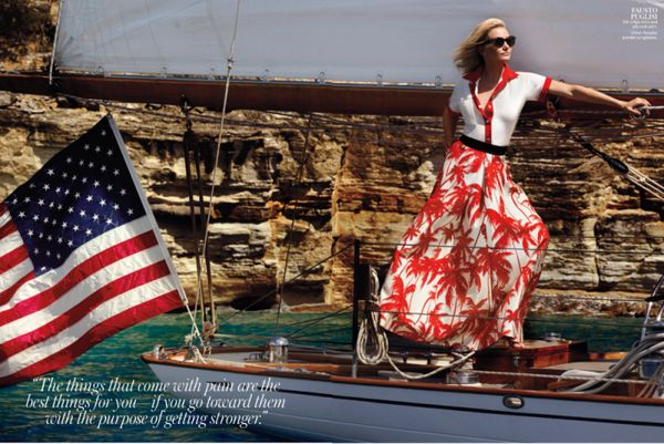 Sailing Starlet Editorials
