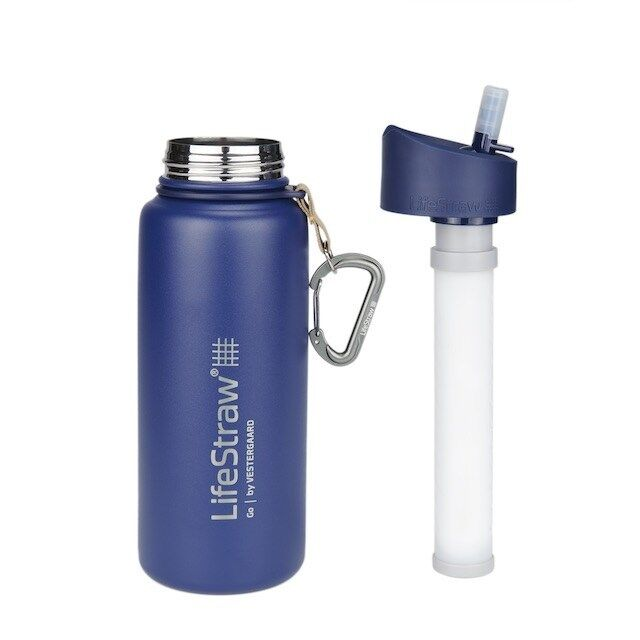 Filter-Integrated Water Bottles