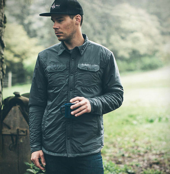 Shirt-Inspired Insulated Jackets