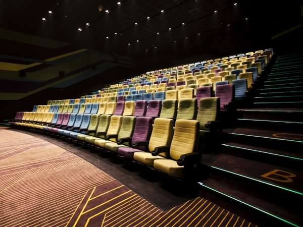 Racetrack-Themed Theaters