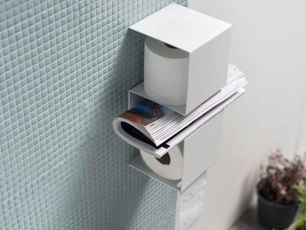 Practical Tissue Shelves Inteam Toilet Paper Holder