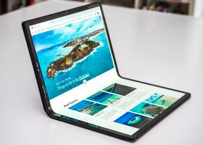 Folding OLED Tablet PCs