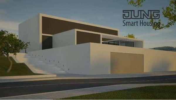 intelligent future homes the jung smart house. Black Bedroom Furniture Sets. Home Design Ideas