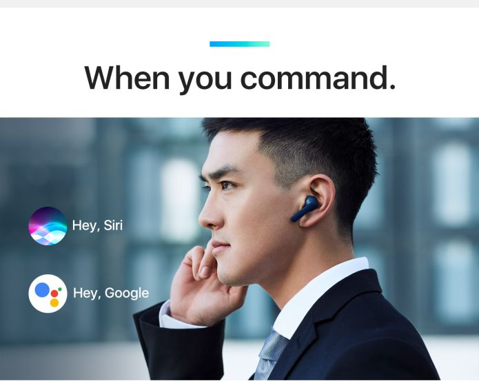 Intelligent Wireless Earbuds