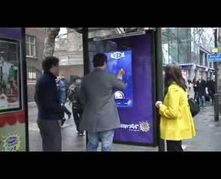 Interactive Chocolate Ads