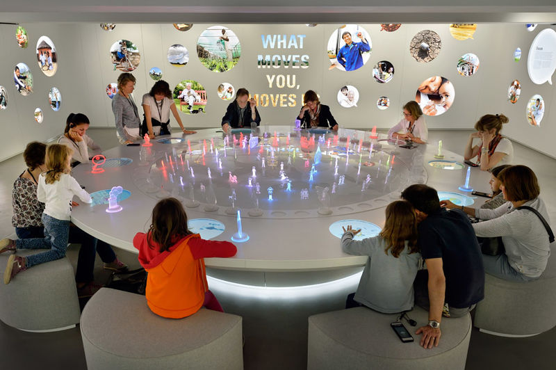 Interactive Factory Exhibits