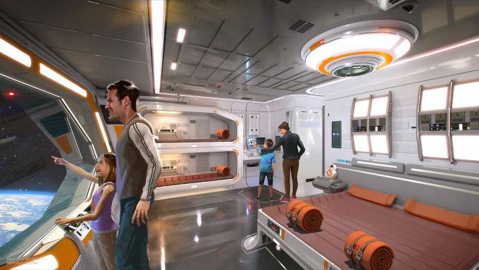 Immersive Sci-Fi Hotels