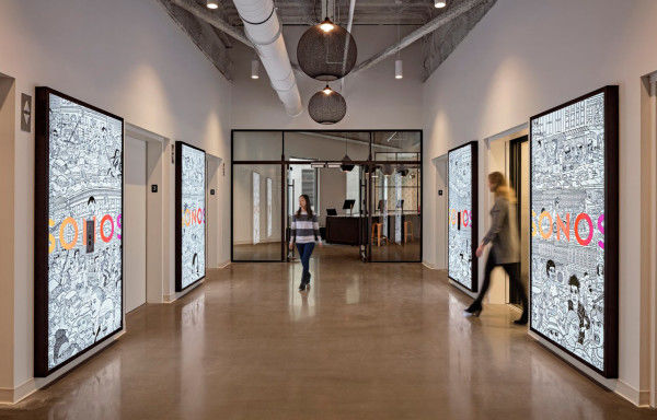 Interactive Audio Offices