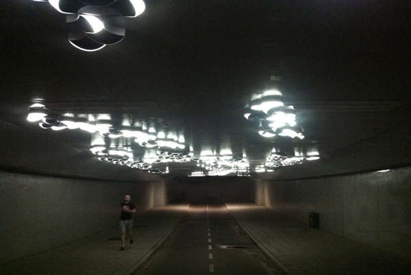 Interactive Tunnel Lights