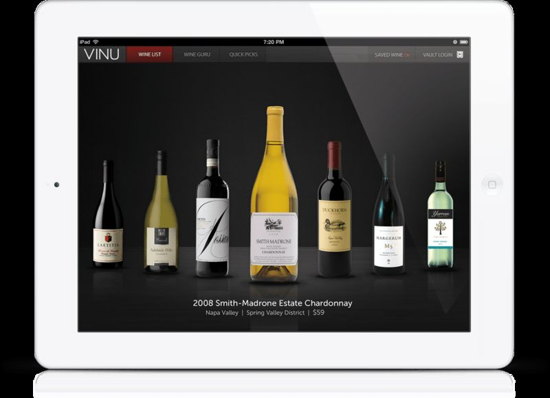 Interactive Wine Lists