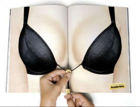 Interactive Wonderbra Ad