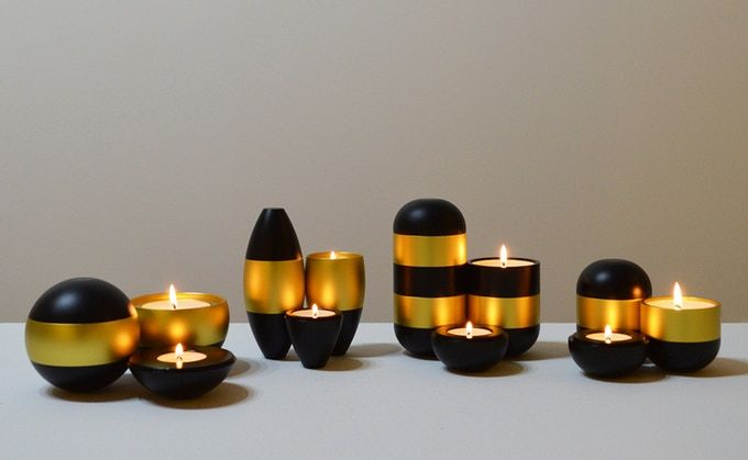 Industrial Designer Candle Holders