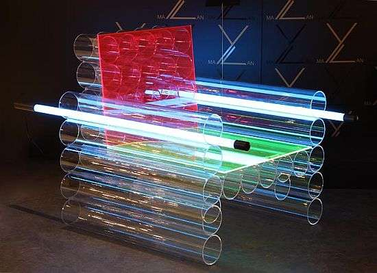 neon furniture. Futuristic Neon Furniture I