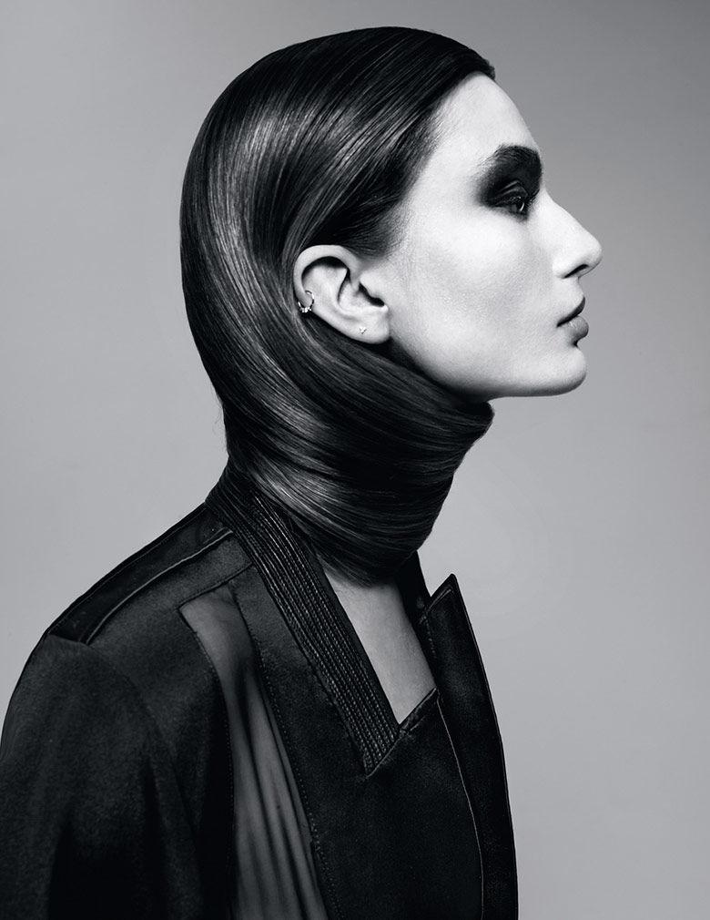 Haute Hair Wrap Editorials