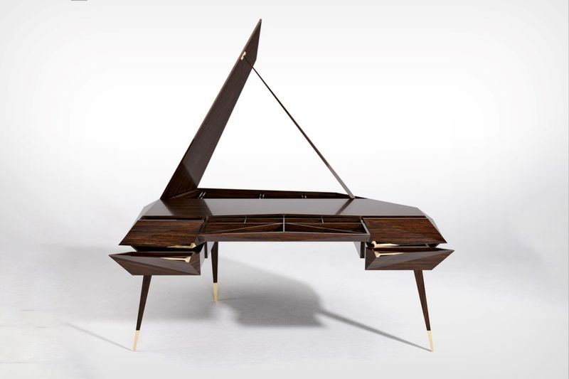 Elegant Piano-Inspired Workstations