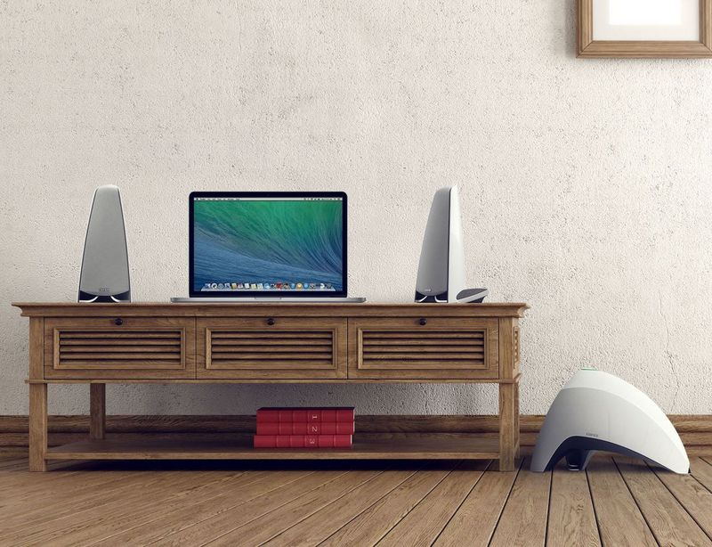 Sculptural Wireless Speakers