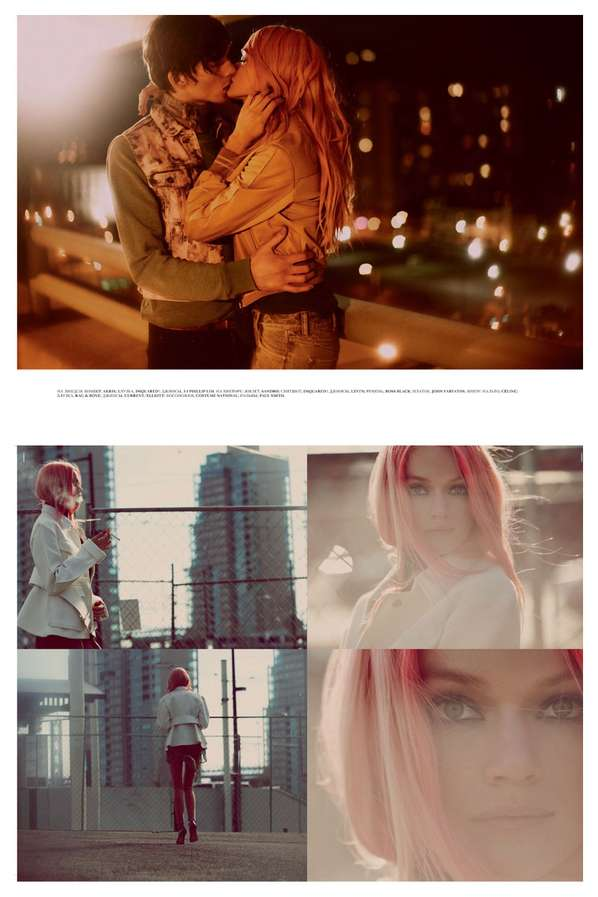 Pink-Haired Lover Photoshoots