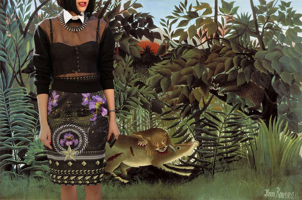 cubic Make life Specialty  Art-Fashion Mashups : Into the Jungle