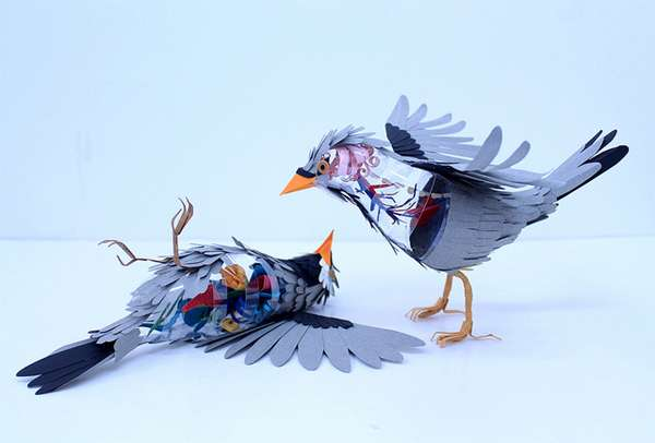Introspective Avian Sculptures