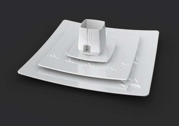 Paw-Printed Platters