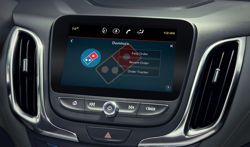 In-Vehicle Pizza Ordering