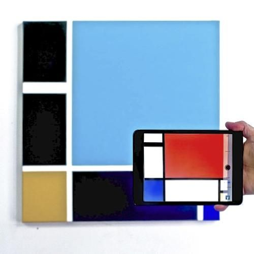 Phone-Scannable Paintings