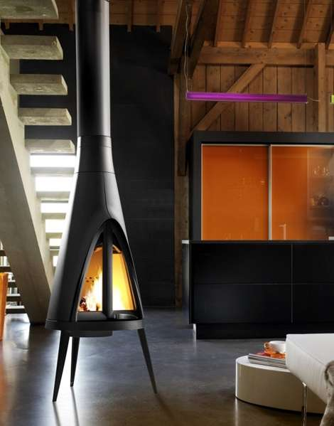 3-Legged Fireplaces