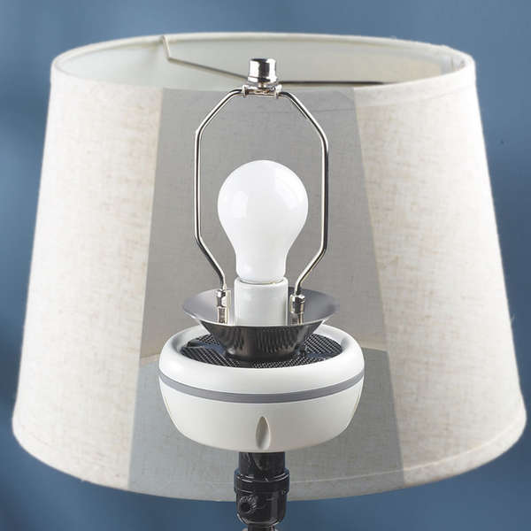 Lamp-Integrated Sound Systems