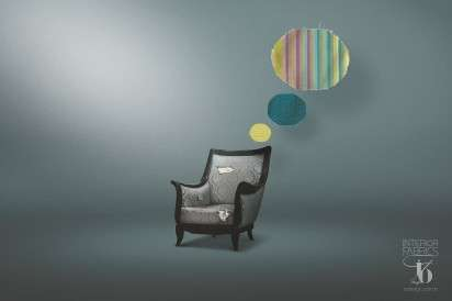 Thinking Furniture Ads IO Design Interior Fabrics
