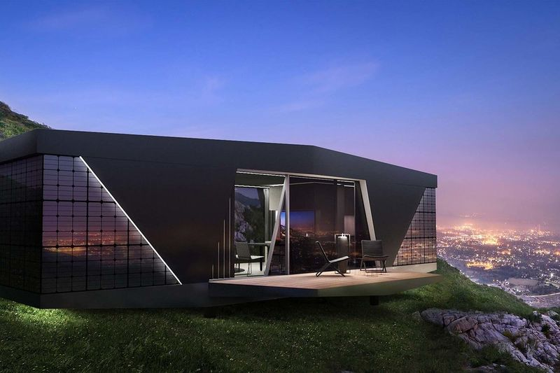 Self-Contained Tech Houses