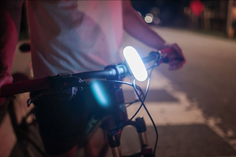 IoT-Connected Bike Lights