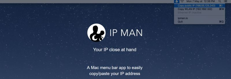 Simplified IP Address Tools