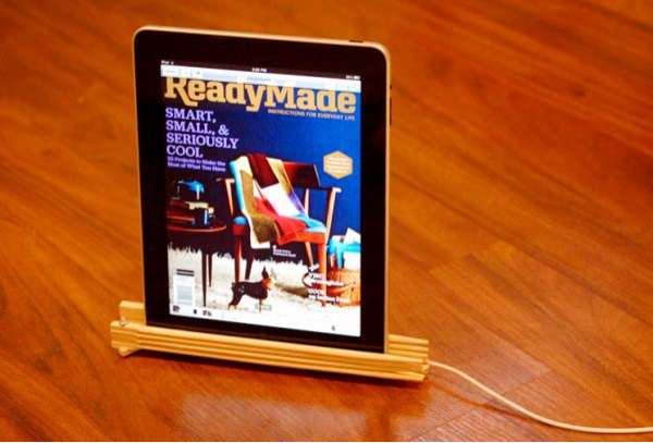 DIY Eco Tablet Holders