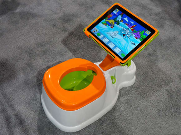 toddler tablet toilets   ipad potty training