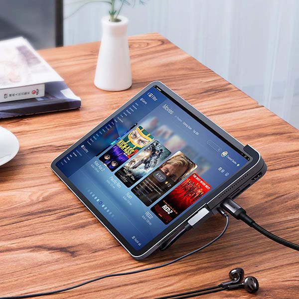 Six-in-One Tablet Hubs