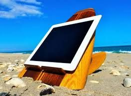 Surfboard Tablet Stands