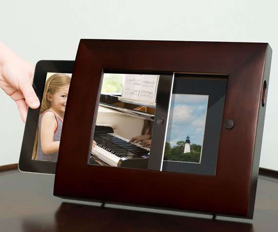 Photo-Displaying Tablet Docks