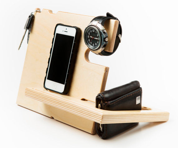 Wooden Docking Stations
