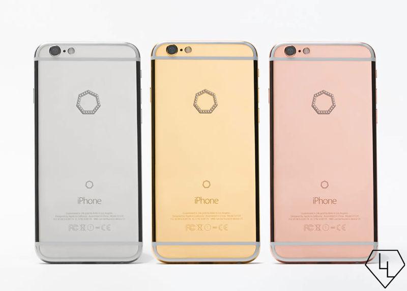 Diamond-Studded Smartphones