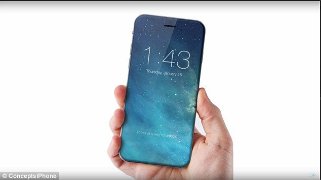 Buttonless Smartphone Renderings
