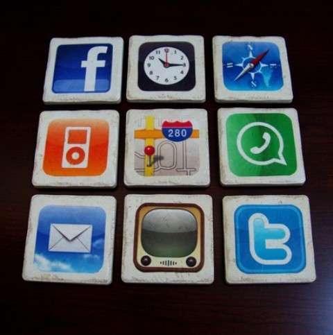 iPhone App Coasters