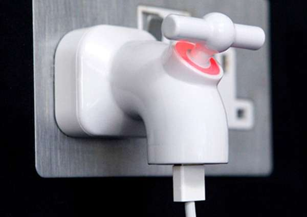 Faucet-Style Phone Sockets