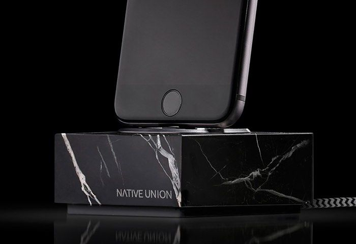 Solid Marble Smartphone Docks