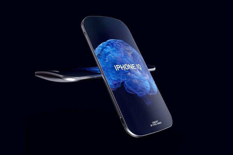 Ergonomically Sculpted Smartphones