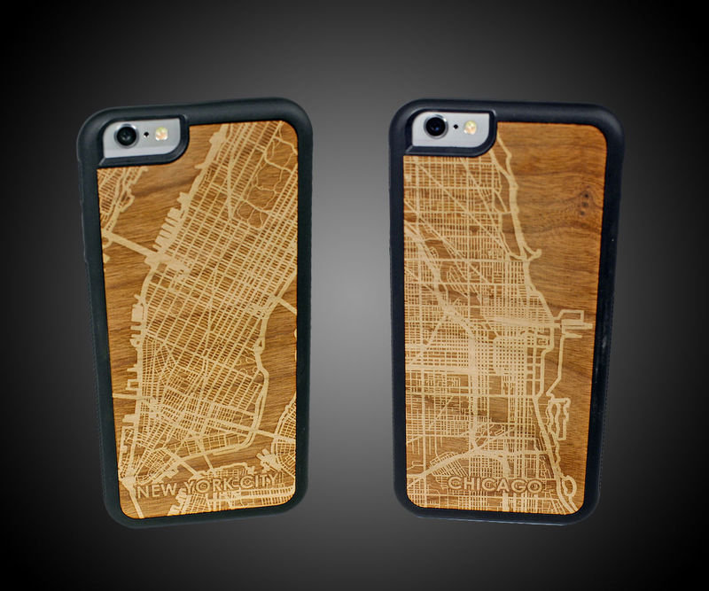 Etched City Smartphone Cases