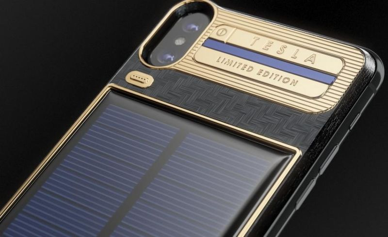 Solar Panel-Equipped Phone Cases