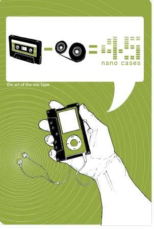 Cassette iPod Cases