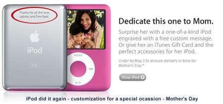 Custom iPods