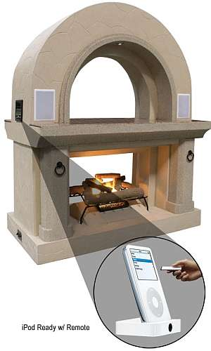 iPod Fireplace