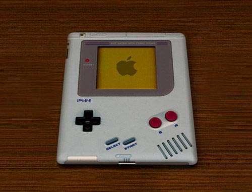 Retro Nintendo Tablet Covers : iPWN! Game Boy iPad 2 Case